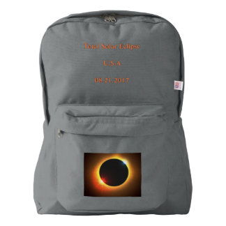Solar Eclipse Back Pack Backpack