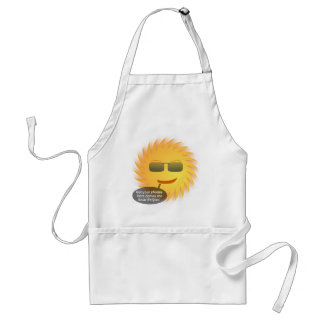 Solar Eclipse Barbecue Nights Standard Apron
