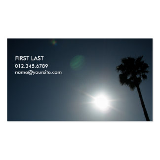 Solar Eclipse Business Card