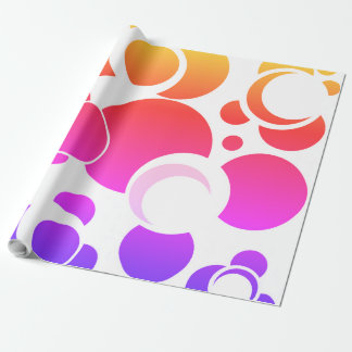 Solar Eclipse Cadeaupapier rain arc Wrapping Paper