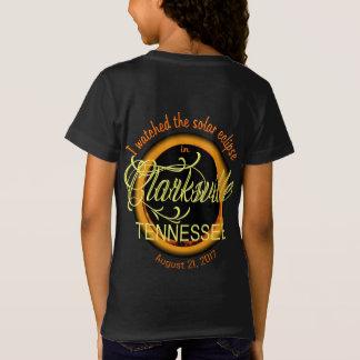 Solar Eclipse Clarksville TN Girl's T-Shirt
