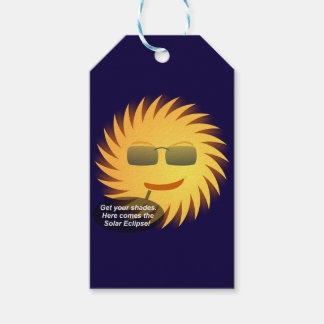 Solar Eclipse Gift Tags