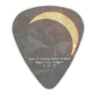 Solar Eclipse Guitar Pick