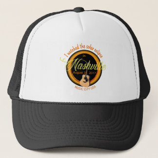 Solar Eclipse in Nashville Trucker Hat