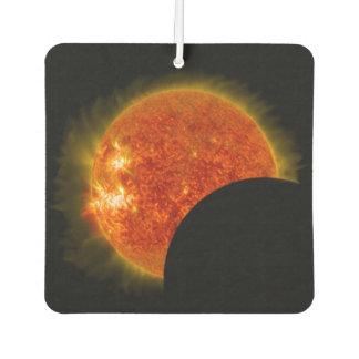 Solar Eclipse in Progress Air Freshener