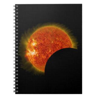 Solar Eclipse in Progress Notebook