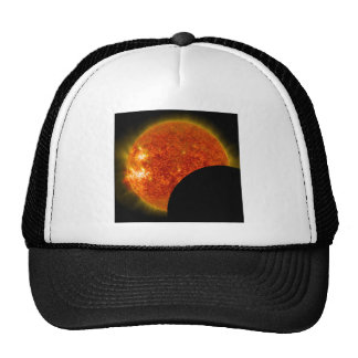Solar Eclipse in Progress Trucker Hat