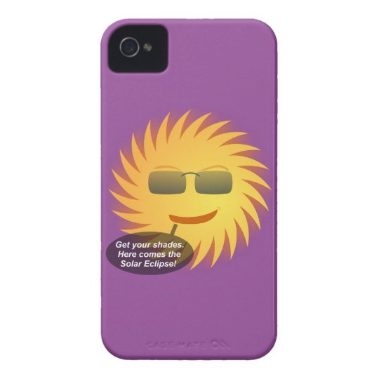 Solar Eclipse iPhone 4 Case-Mate Cases
