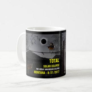 Solar Eclipse Montana 8/21/2017 Coffee Mug
