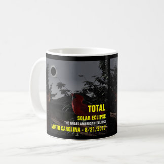 Solar Eclipse North Carolina 8/21/2017 Coffee Mug
