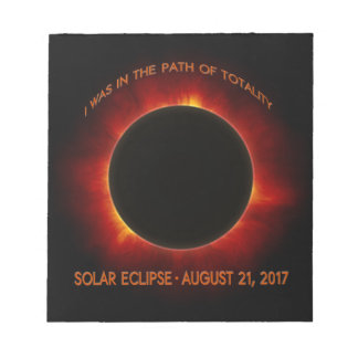 Solar Eclipse Notepad