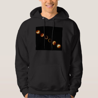 Solar Eclipse Phases Hoodie