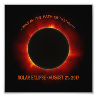Solar Eclipse Photo Print