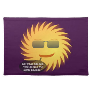 Solar Eclipse Placemat