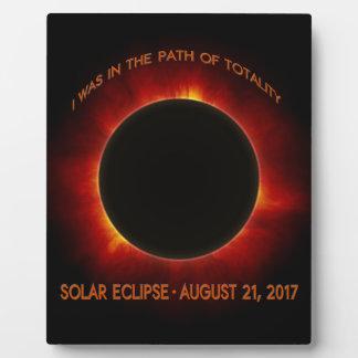 Solar Eclipse Plaque