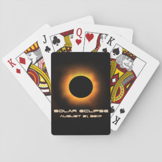 Solar Eclipse Playing Cards