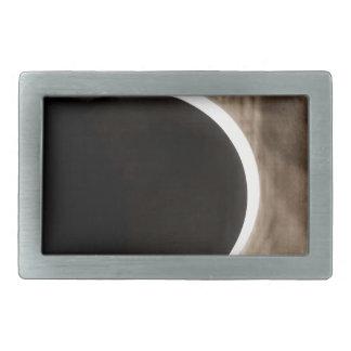 solar eclipse rectangular belt buckles