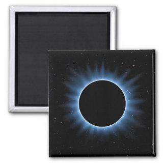 Solar Eclipse Square Magnet