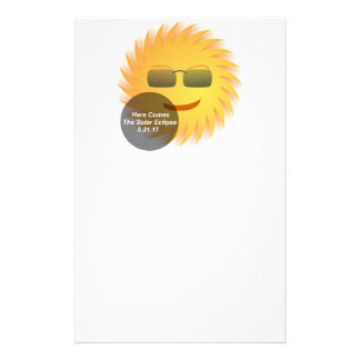 Solar Eclipse Stationery