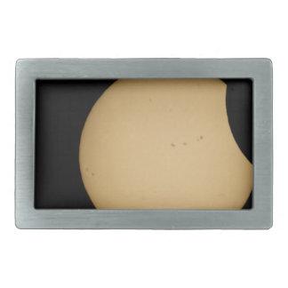 solar eclipse, sun, moon, science, phenomenon, pla belt buckle