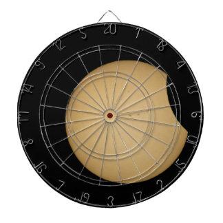 solar eclipse, sun, moon, science, phenomenon, pla dartboard