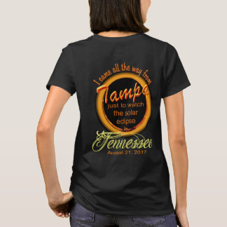 Solar Eclipse - Tampa to TN Women's T-Shirt
