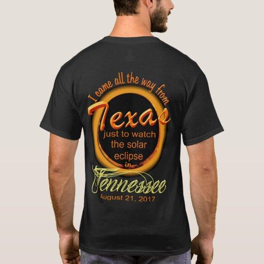 Solar Eclipse - Texas to TN Men's Shirts