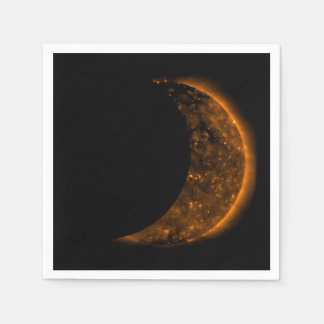 Solar Eclipse Transit Disposable Napkins