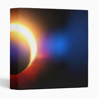 Solar Eclipse Vinyl Binder