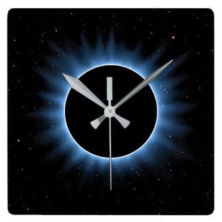 Solar Eclipse Wall Clock