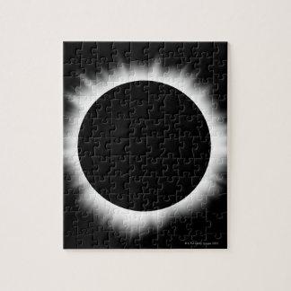 Solar Eclipse with Corona Jigsaw Puzzle