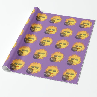 Solar Eclipse Wrapping Paper