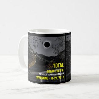 Solar Eclipse Wyoming 8/21/2017 Coffee Mug