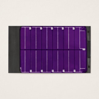solar electric panel business card