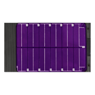 solar electric panel business card template