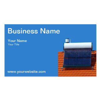 Solar energy Double-Sided standard business cards (Pack of 100)
