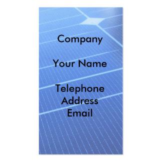 Solar Energy Business Card Templates