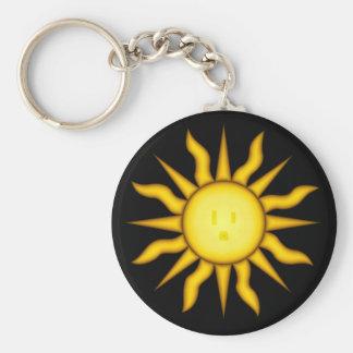 Solar Energy Keychain