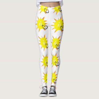 Solar Energy w/ Electric Plug In on Sun Leggings