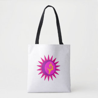 Solar Exclipse Goddess Tote Bag