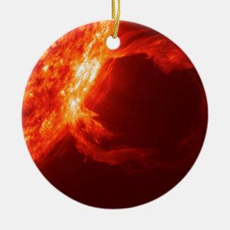 SOLAR FLARE 1 CERAMIC ORNAMENT
