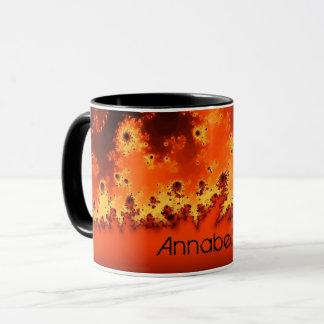 Solar Flare Fractal Mug