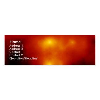 Solar Flare Mini Business Card