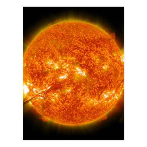 Solar Flare or Coronal Mass Ejection on Sun Post Cards