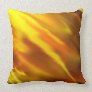 Solar Flare pattern Throw Pillow