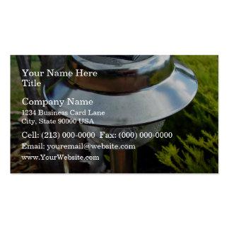 Solar garden light business card templates
