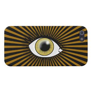Solar Hazel Eye iPhone 5 Cover
