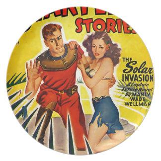 Solar Invasion Plate