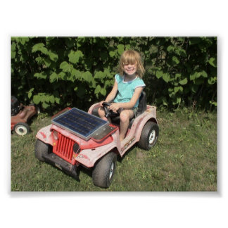 Solar Jeep Poster