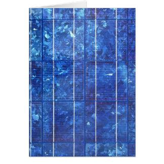 Solar panel card